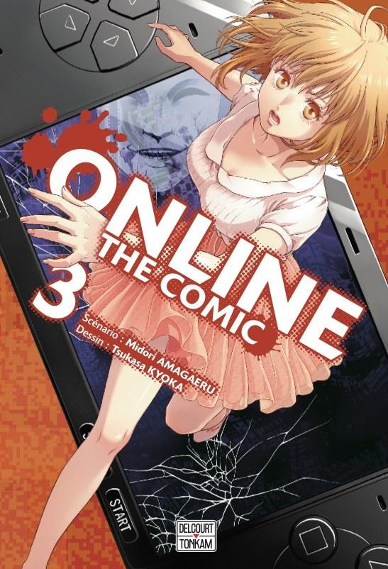 Online The Comic - # 3 - Midori Amagaeri - Tsukasa Kyoka - Editions Delcourt Tonkam