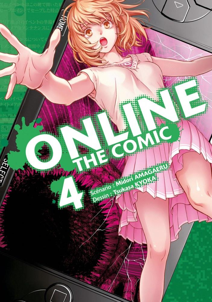 Online The Comic - # 4 - Midori Amagaeri - Tsukasa Kyoka - Editions Delcourt Tonkam