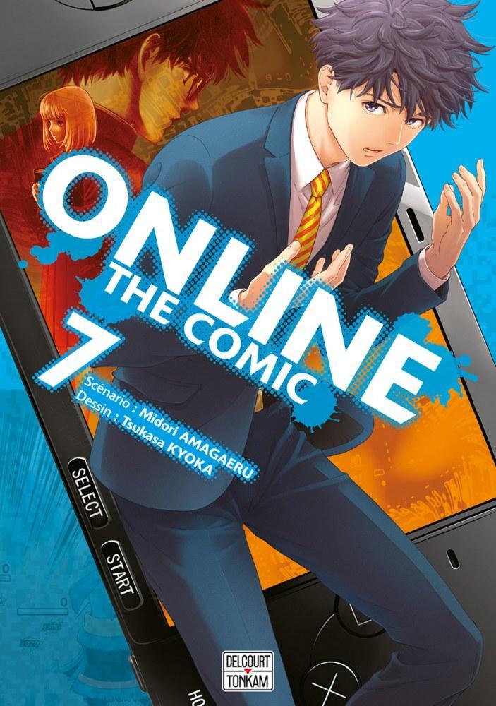 Online The Comic - # 7 - Midori Amagaeri - Tsukasa Kyoka - Editions Delcourt Tonkam
