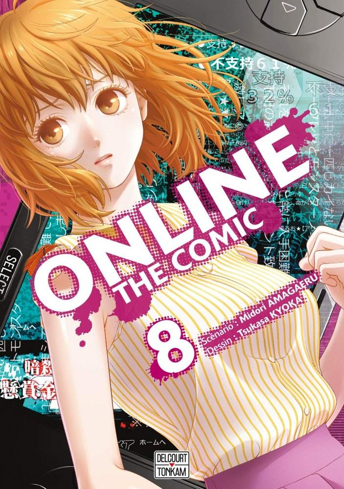 Online The Comic - # 8 - Midori Amagaeri - Tsukasa Kyoka - Editions Delcourt Tonkam