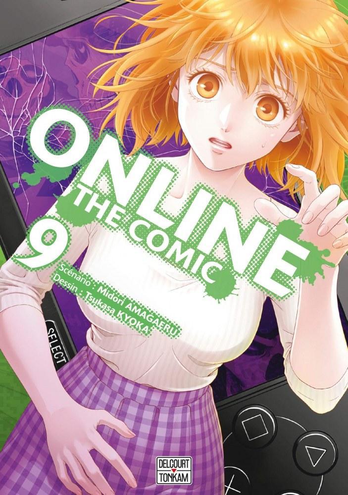 Online The Comic - # 9 - Midori Amagaeri - Tsukasa Kyoka - Editions Delcourt Tonkam