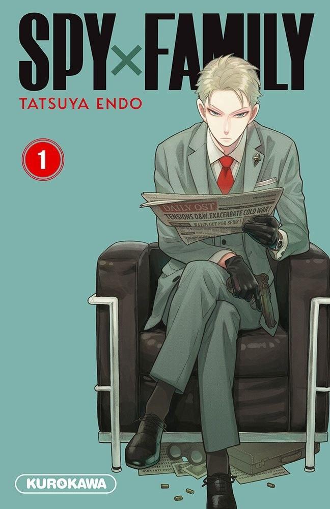 Spy X Family - # 1 - Tatsuya Endo - Kurokawa