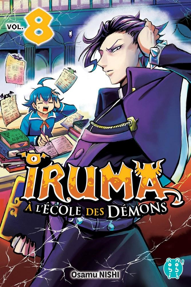 Iruma à l'école des démons - # 8 - Nishi Osamu - Editions Nobi Nobi