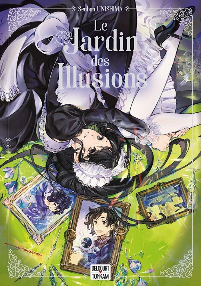 Le Jardin des Illusions - Senbon Unishima - Editions Delcourt Tonkam