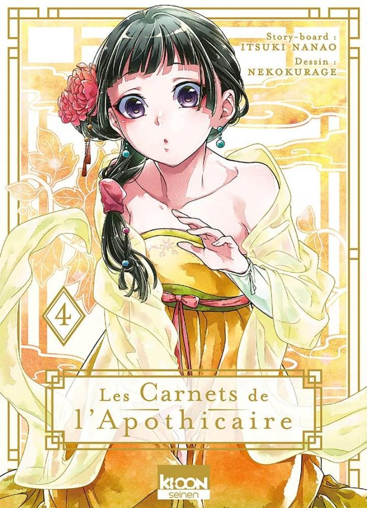 Les carnets de l'apothicaire - # 4 - Itsuki Nanao - Nokokurage- Editions Ki-oon