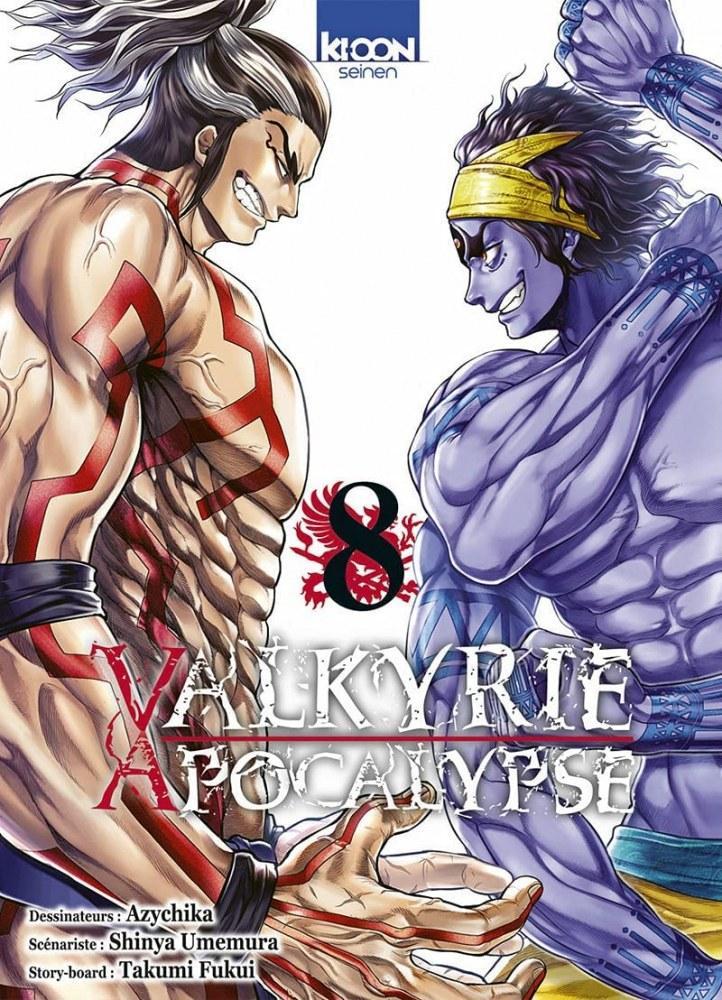 Valkyrie apocalypse - # 8 - Edition Ki-oon - Azychika - Shinya Umemura - Takumi Fukui